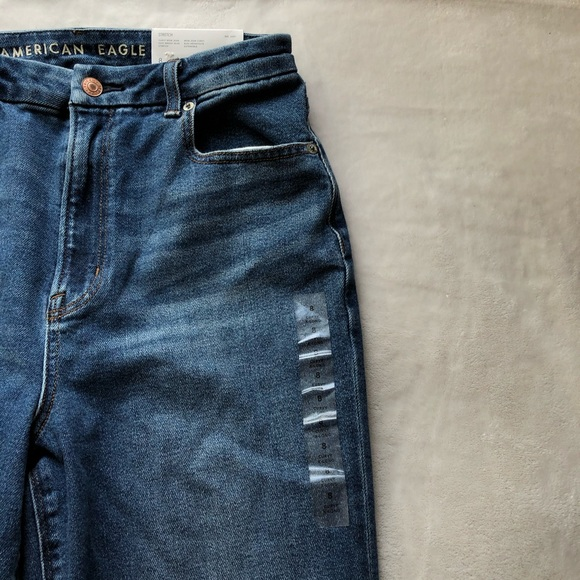 NWT American Eagle Curvy X-Long Mom jeans